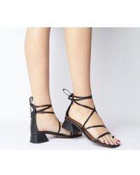 5c0d2fd70aa Steve Madden Pamelina Toe Loop Sandal (women) in Metallic - Lyst
