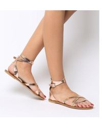 Office - Stephan Strappy Ankle Sandals - Lyst