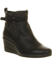 UGG Emalie Wedge Boots - Black