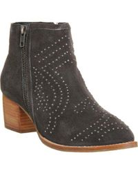 Office - Luna Studded Western Boots - Lyst