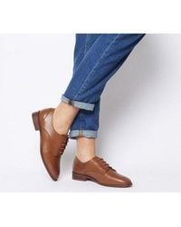 Office Fear Vintage Lace Up - Brown