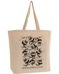 Office Tote Bags - Natural