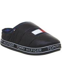 909ee01e5 Lyst - Women s Tommy Hilfiger Slippers On Sale