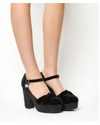 Miss L-fire - Guess Lila Wedge Heel - Lyst