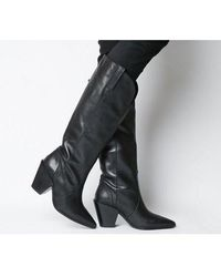 Office - Kash- Western Knee Boot - Lyst