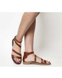 49b5b473dc9 Lyst - Women s Timberland Flat sandals Online Sale