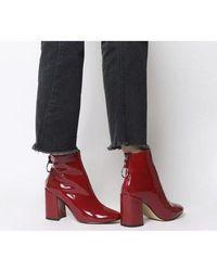 Office - Argon- Block Heel Back Zip - Lyst