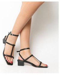 Office - Miley Square Toe Strappy Sandal - Lyst