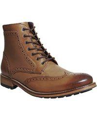 Ted Baker - Sealls 3 Brogue Boot - Lyst