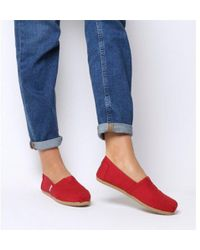 TOMS - Classic Slip On - Lyst