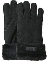 UGG Turn Cuff Glove - Black