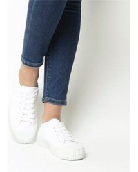 Office - Frangipane Canvas Trainer - Lyst