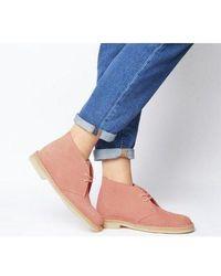 Clarks Clarks Desert Boot - Red