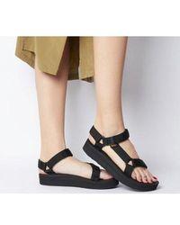 Teva Universal Black Sandals