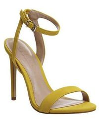 Office Alana Single Sole Sandal - Yellow