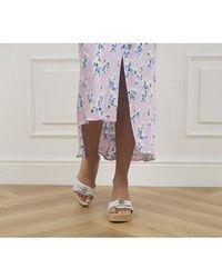 Scholl Pescura Ibiza Heels - White