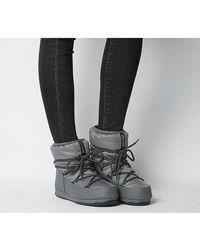Moon Boot Low Nylon - Grey