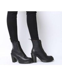wholesale dealer online shop buying cheap Clarks Leather Kendra Porter Ankle Boots in Purple - Lyst