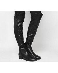 Office Kensington- Stretch Back Knee Boot - Black
