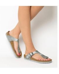 Birkenstock - Toe Thong Footbed - Lyst