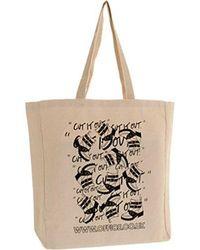 Office Tote Bags - Brown