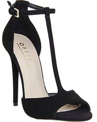 Office - Arrive T Bar Sandal - Lyst
