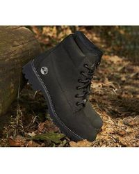 Timberland Slim Premium 6 Inch Boot - Black