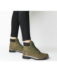 Timberland Slim Premium 6 Inch Boot - Green