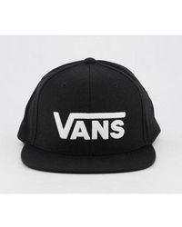 Vans Drop V Ii Snapback Cap - Black