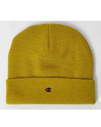 Champion Rochester C Beanie Cap - Yellow