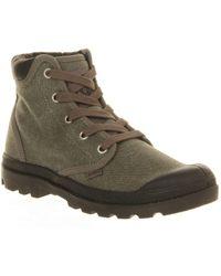Palladium Pampa Hi Cuff Boots - Green