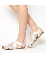 Office - Bermuda Elastic Sandal - Lyst