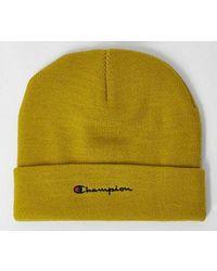 Champion Rochester Beanie Cap - Yellow