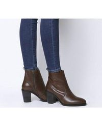 Office - Aberdeen- Unlined Block Heel Boot - Lyst