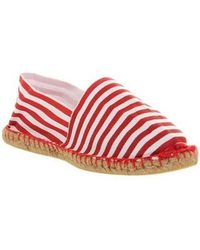 Office Solemate Espadrille - Red