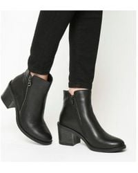 Office - Archway- Mid Side Zip Boot - Lyst