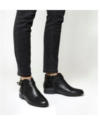 156ad635966 Office - Laurie Smart Buckle Boots - Lyst