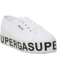 Superga '2790 Cotw' Platform Sneakers - White