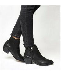 Office - Luca Side Zip Western Boots - Lyst