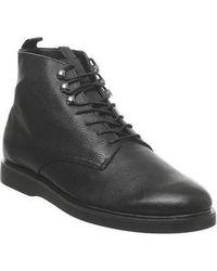 H by Hudson Battle Lace Up Boot - Black