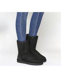 UGG Classic II Shearling-Lined Boots - Black