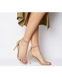 Office Mimosa Two Part Mid Sandal - Natural