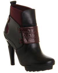 United Nude Winter Eros High Heel Ankle Boots - Black