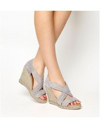 Office - Holiday Wedge Espadrilles - Lyst