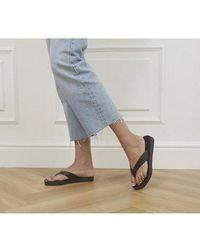 Office Sophie - Toe Post Sandal - Black