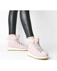 UGG - Birch Lace Up Shearling - Lyst