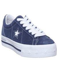 Converse One Star Platform Me - Blue