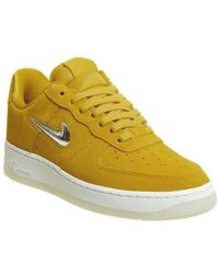 buy popular f92e0 a6420 Nike - Air Force 1 Jewel Trainers - Lyst