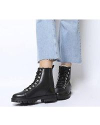 Office Ansel- Hiker Lace Up - Black