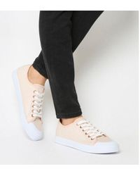 Office - Franklin Toe Cap Lace Up Trainer - Lyst